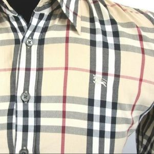 Burberry Brit Classic Button-Down Large